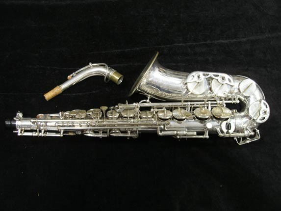 Selmer Silver Super Balanced Action Alto - 45550 - Photo # 1