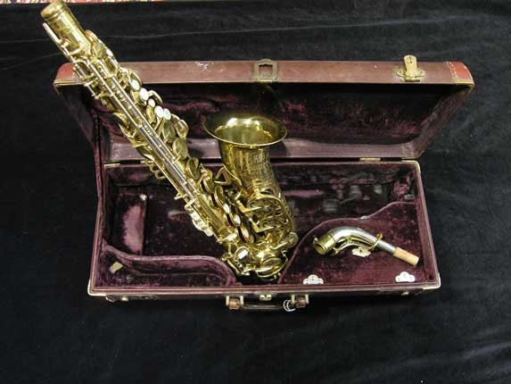 King Lacquer-Sterling Neck Super 20 Alto - 283230 - Photo # 1