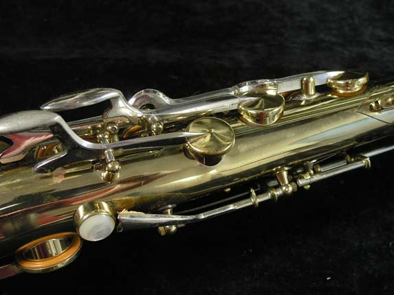 King Silver-Sonic Gold Inlay Super 20 Tenor - 372421 - Photo # 9