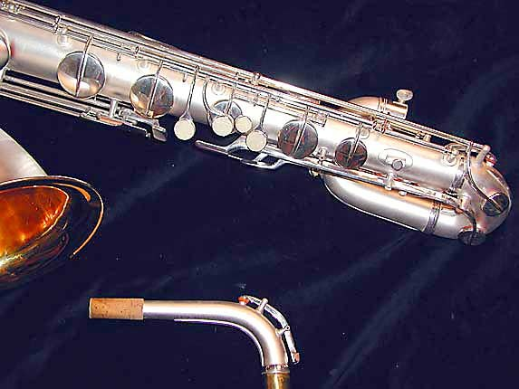 Conn Silver Plate Chu Berry Baritone - 189716 - Photo # 4