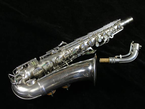 Conn Silver Plate Transitional 6M Alto - 257986 - Photo # 1