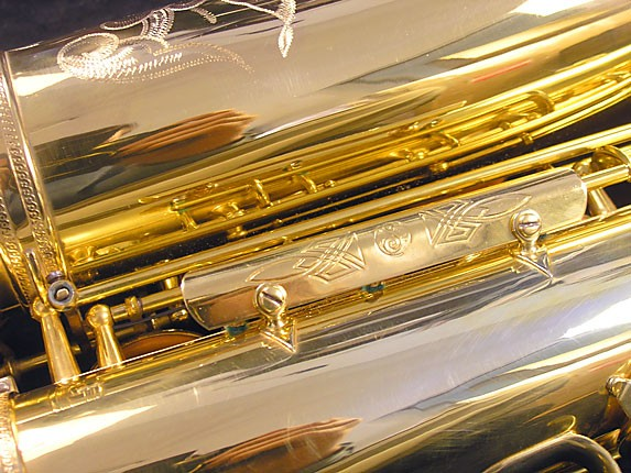 Selmer Gold Plate Super Balanced Action Tenor - 51584 - Photo # 13
