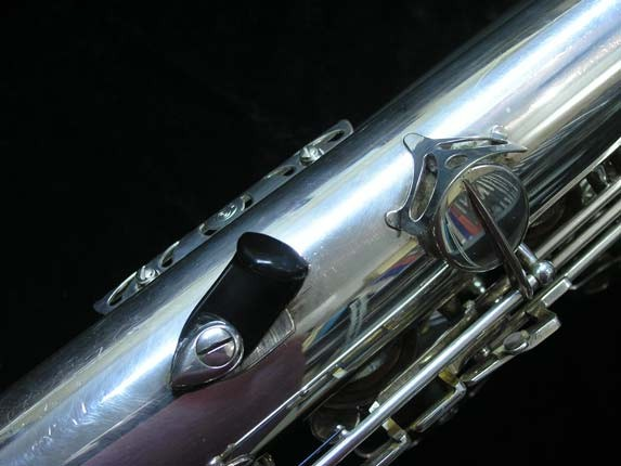 "Selmer Silver Plate Mark VI ""Low A"" Baritone - 177100 - Photo # 31"