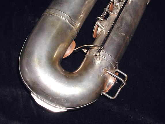 "Buescher Silver Plate Aristocrat ""Big B"" Baritone - 331816 - Photo # 9"