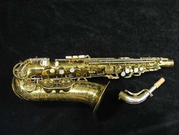 King Lacquer-Sterling Neck Super 20 Alto - 283230 - Photo # 2