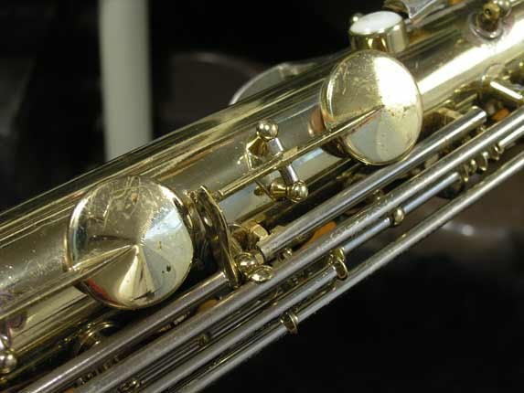 King Silver-Sonic Gold Inlay Super 20 Tenor - 372421 - Photo # 10