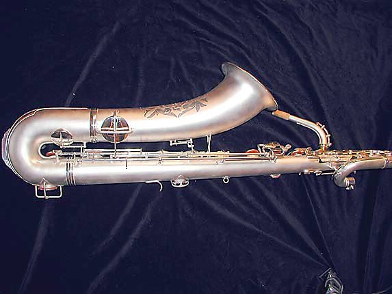 Conn Silver Plate Chu Berry Baritone - 189716 - Photo # 5