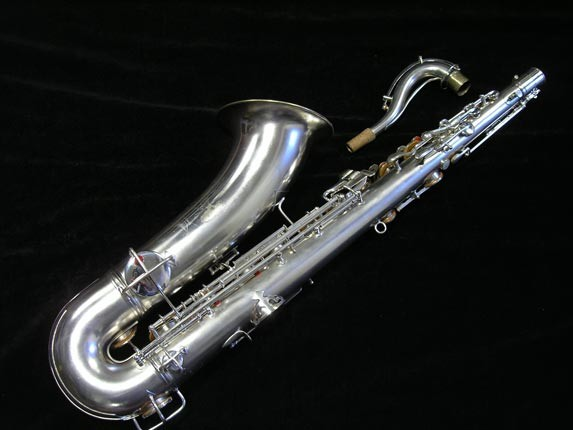 "Conn ""New Wonder"" Matte Silver Plate Tenor - 65941 - Photo # 4"