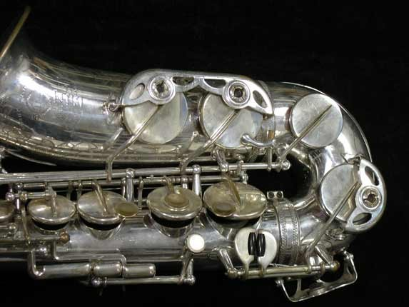 Selmer Silver Super Balanced Action Alto - 45550 - Photo # 3