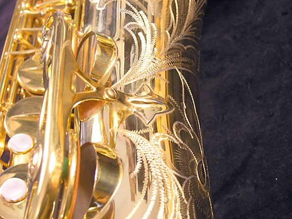 Selmer Gold Plate Super Balanced Action Tenor - 51584 - Photo # 14