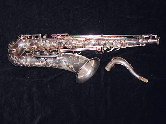 Selmer Silver Plate Mark VI Tenor - 114478 - Photo # 1