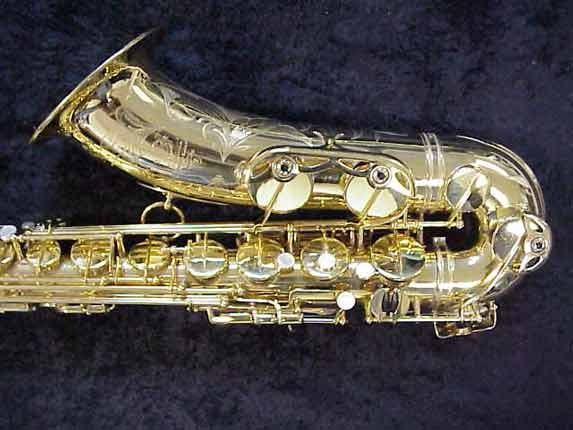 Selmer Gold Plate Mark VI Tenor - 92651 - Photo # 3