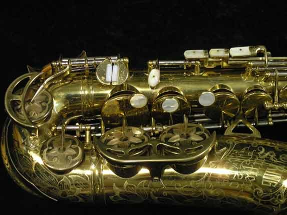 King Lacquer-Sterling Neck Super 20 Alto - 283230 - Photo # 3