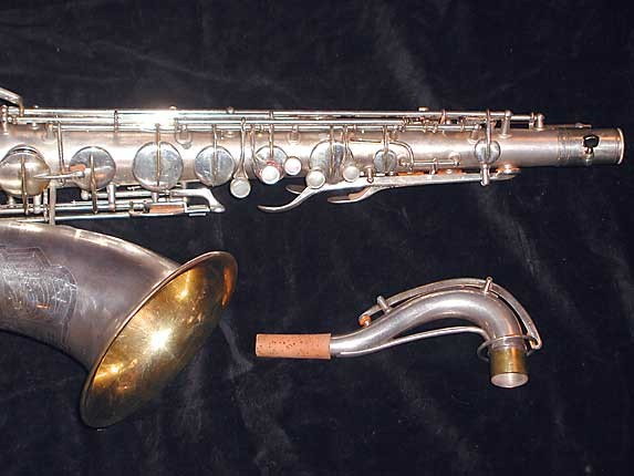 Conn Silver Plate Art Deco Chu Berry Tenor - 236368 - Photo # 2