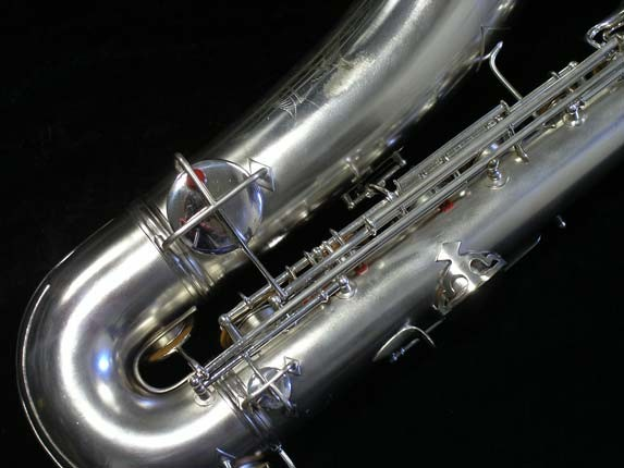 "Conn ""New Wonder"" Matte Silver Plate Tenor - 65941 - Photo # 5"