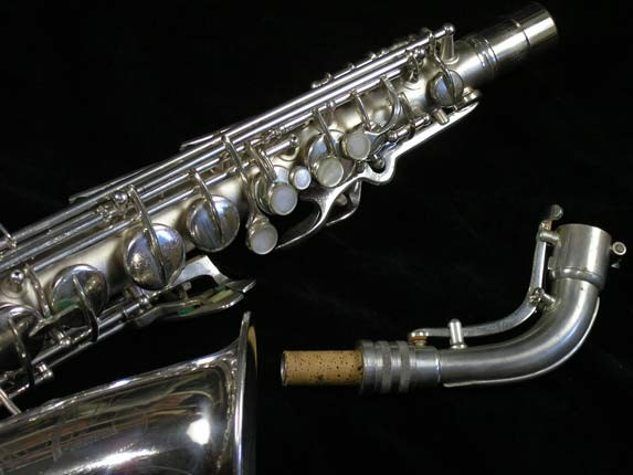 Conn Silver Plate Transitional 6M Alto - 257986 - Photo # 3