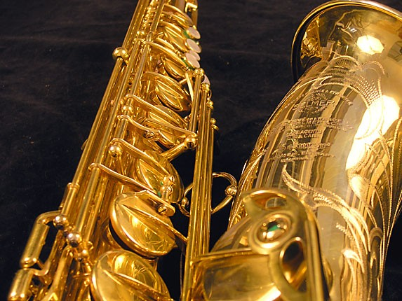 Selmer Gold Plate Super Balanced Action Tenor - 51584 - Photo # 15