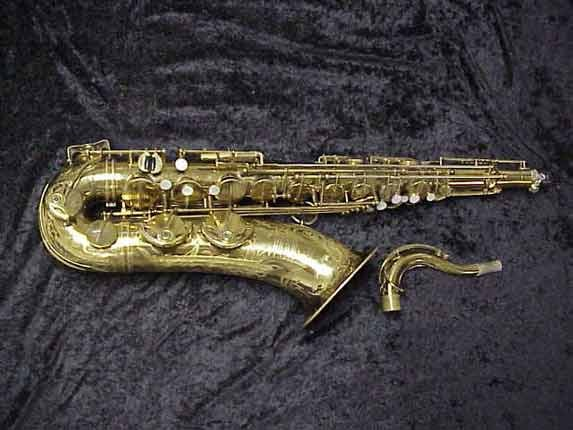 Selmer Lacquer Super Balanced Action Tenor - 39981 - Photo # 1