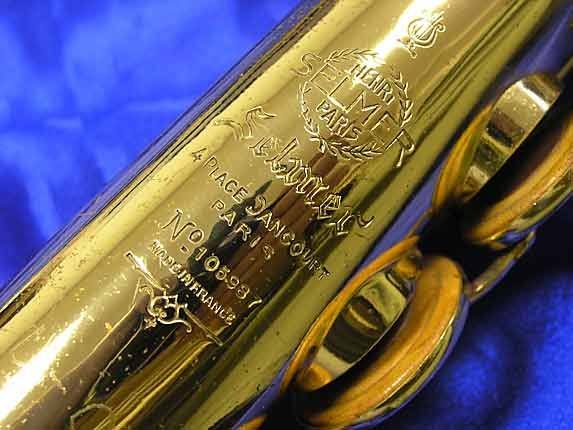 Selmer Lacquer Mark VI Soprano - 105987 - Photo # 13