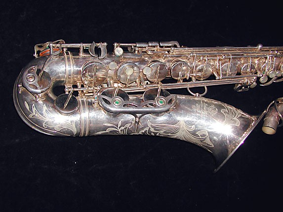 Selmer Silver Plate Mark VI Tenor - 114478 - Photo # 2