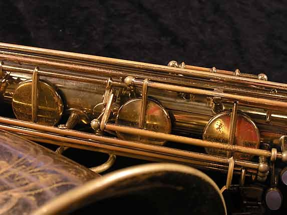 Selmer Lacquer Mark VI Baritone - 100476 - Photo # 12