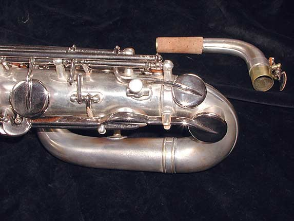 "Buescher Silver Plate Aristocrat ""Big B"" Baritone - 331816 - Photo # 11"