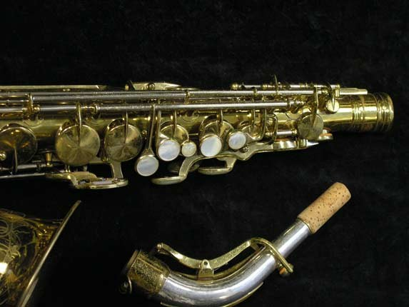 King Lacquer-Sterling Neck Super 20 Alto - 283230 - Photo # 4