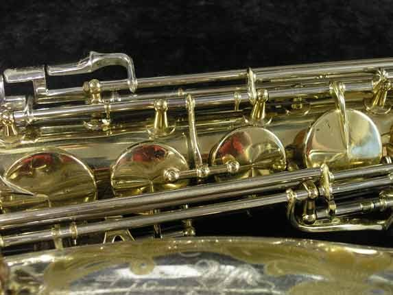 King Silver-Sonic Gold Inlay Super 20 Tenor - 372421 - Photo # 12