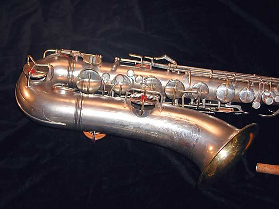 Conn Silver Plate Art Deco Chu Berry Tenor - 236368 - Photo # 3