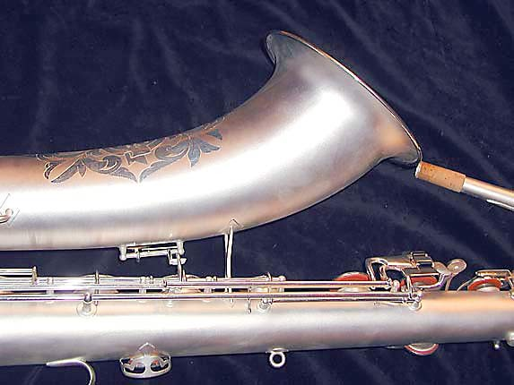 Conn Silver Plate Chu Berry Baritone - 189716 - Photo # 7