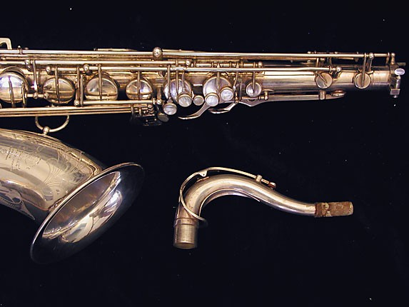 Selmer Silver Plate Mark VI Tenor - 114478 - Photo # 3