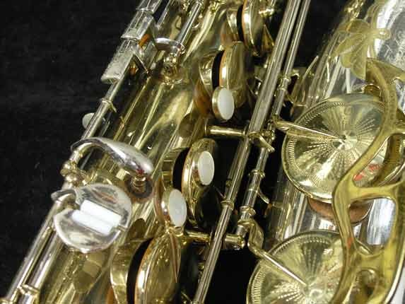 King Silver-Sonic Gold Inlay Super 20 Tenor - 372421 - Photo # 13