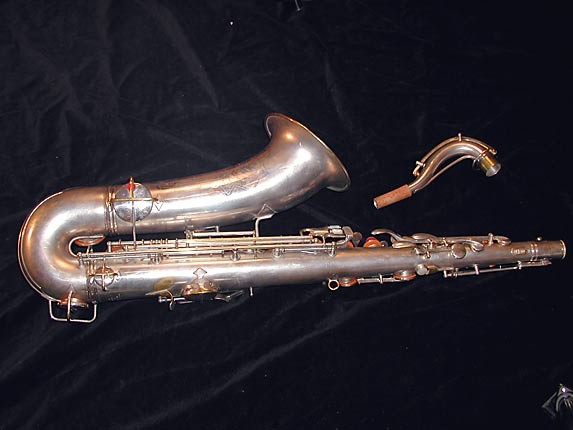 Conn Silver Plate Art Deco Chu Berry Tenor - 236368 - Photo # 4