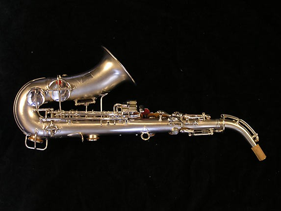 "Conn ""New Wonder"" Silver Plate Curved Soprano - 70327 - Photo # 4"
