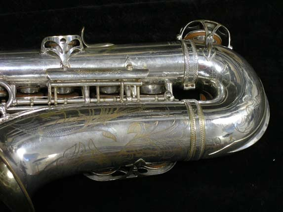 Selmer Silver Super Balanced Action Alto - 45550 - Photo # 6