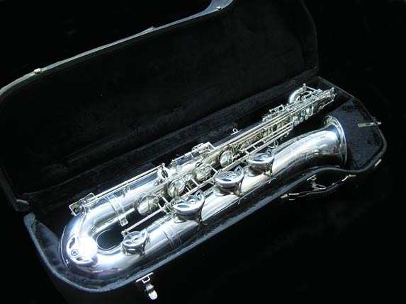 "Selmer Silver Plate Mark VI ""Low A"" Baritone - 177100 - Photo # 35"