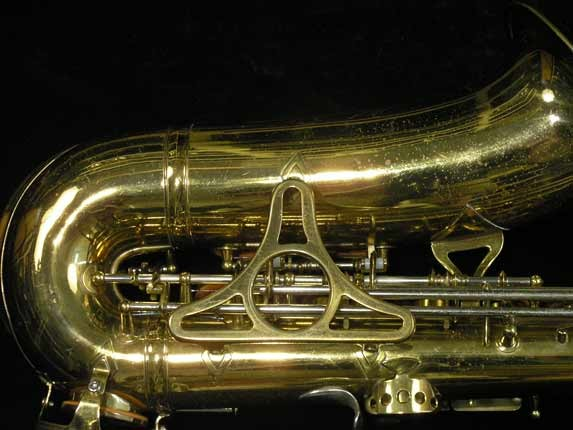 King Lacquer-Sterling Neck Super 20 Alto - 283230 - Photo # 6