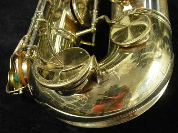 King Silver-Sonic Gold Inlay Super 20 Tenor - 372421 - Photo # 14