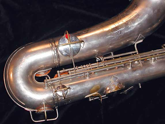 Conn Silver Plate Art Deco Chu Berry Tenor - 236368 - Photo # 5