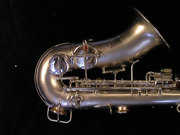 "Conn ""New Wonder"" Silver Plate Curved Soprano - 70327 - Photo # 5"