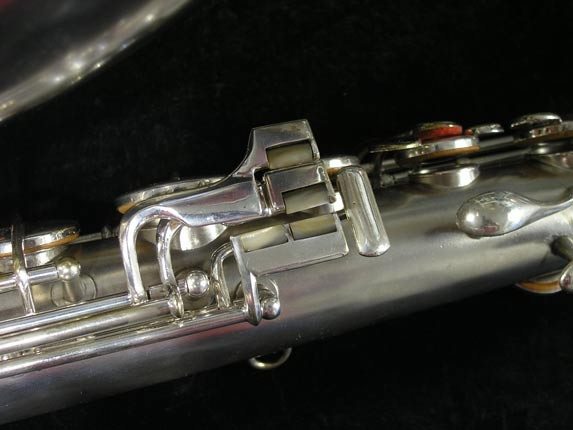 "Conn ""New Wonder"" Matte Silver Plate Tenor - 65941 - Photo # 8"
