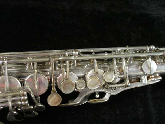Selmer Silver Super Balanced Action Alto - 45550 - Photo # 7