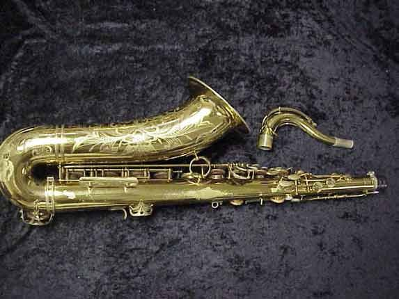 Selmer Lacquer Super Balanced Action Tenor - 39981 - Photo # 4