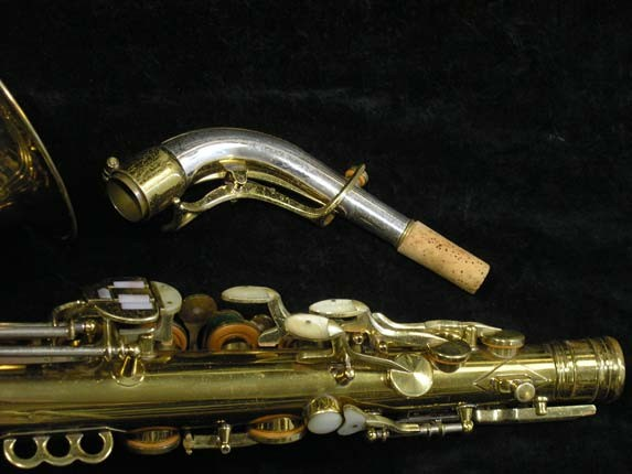 King Lacquer-Sterling Neck Super 20 Alto - 283230 - Photo # 7