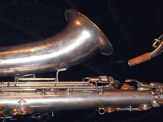 Conn Silver Plate Art Deco Chu Berry Tenor - 236368 - Photo # 6