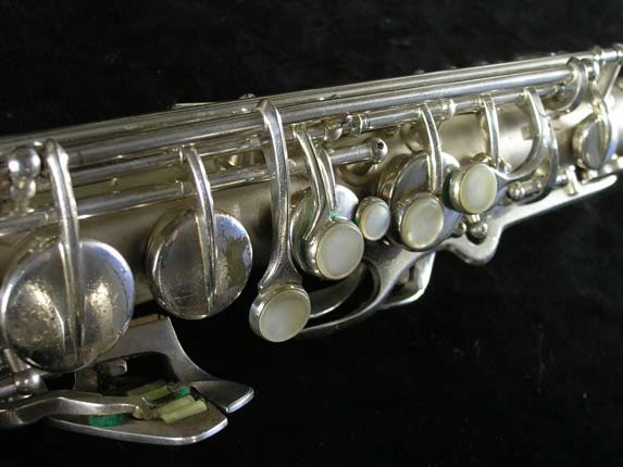 Conn Silver Plate Transitional 6M Alto - 257986 - Photo # 7