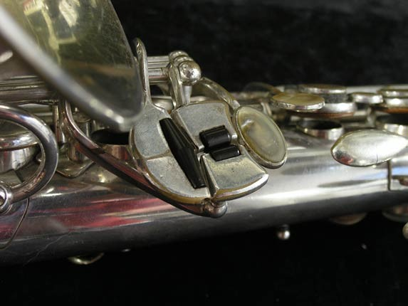 Selmer Silver Super Balanced Action Alto - 45550 - Photo # 8