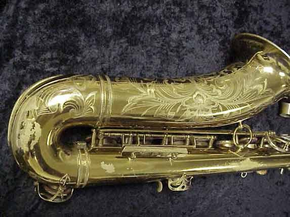 Selmer Lacquer Super Balanced Action Tenor - 39981 - Photo # 5
