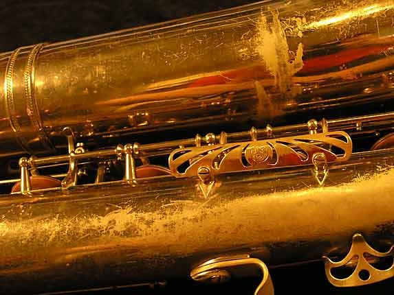 Selmer Lacquer Mark VI Baritone - 100476 - Photo # 16
