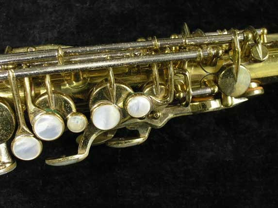 King Lacquer-Sterling Neck Super 20 Alto - 283230 - Photo # 8